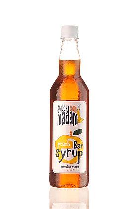 Барный сироп Персик ПЭТ бутылка 700 мл.