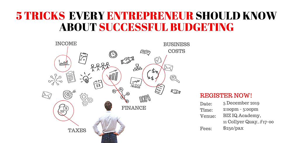 5 Tricks Every Entrepreneur Should Know Abt Successful Budgeting