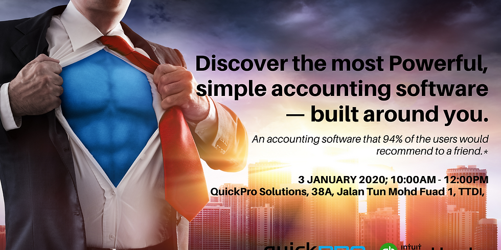 Discover the most powerful, simple accounting software — built around you.