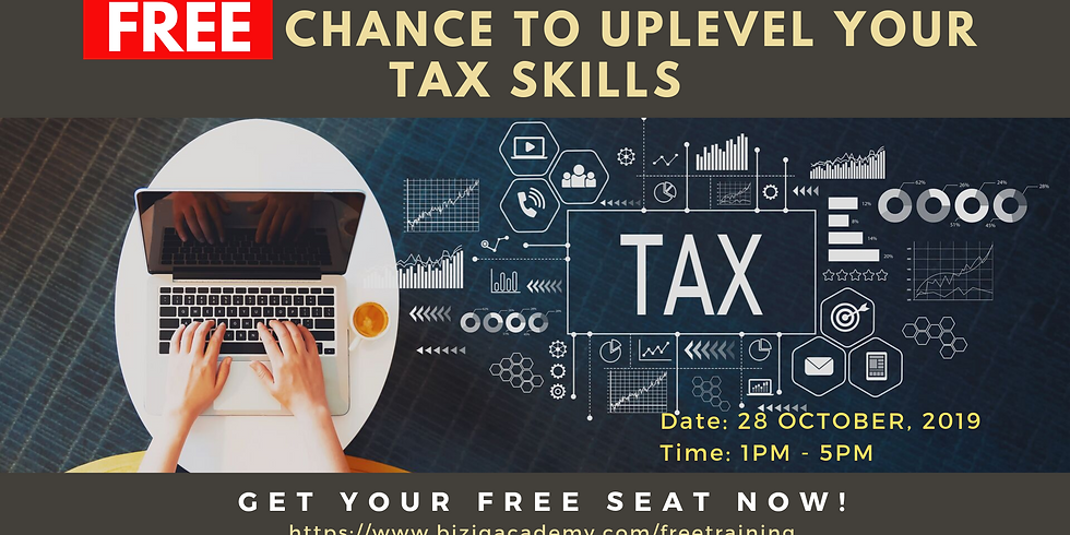 Free Chance to Uplevel Your Tax Skills
