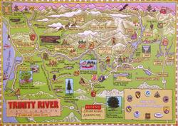Trinity River Poster
