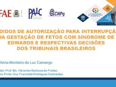 Aluna de Medicina tem resumo aprovado em Congresso de Humanização e Bioética