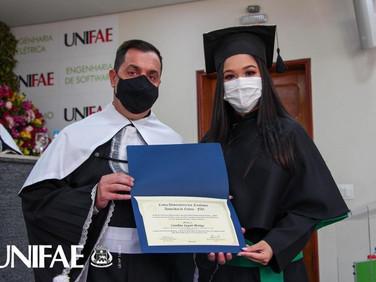 UNIFAE forma a primeira turma de Medicina