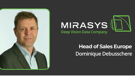 MIRASYS ANNOUNCES NEW HEAD OF SALES EUROPE