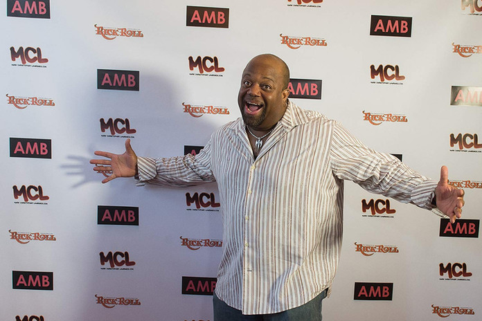 Mark Christopher Lawrence at an event fo