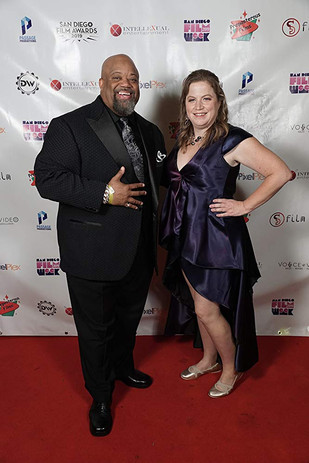 Mark Christopher Lawrence and Jodi Cille