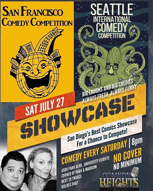 San Francisco Comedy Competition 727- MC