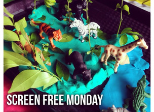ScreenFree Monday : Mixed Material Jungle