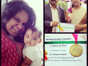 Mom Salute : Dr. Nirupama Sreedhar