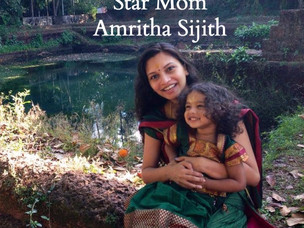 Star Mom : Amritha Sijith