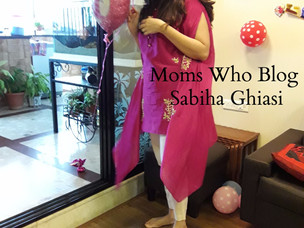 Moms Who Blog : Featuring Sabiha Ghiasi