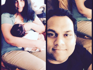 Mom Speak : Chinnu on how her husband was the first to feed her son breastmilk