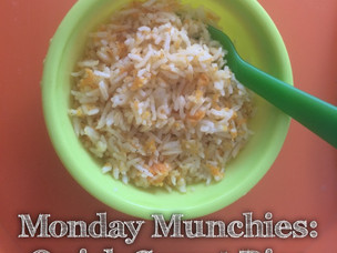 Monday Munchies : Quick Carrot Rice