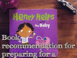 Book Recommendation: Henry Helps with the Baby