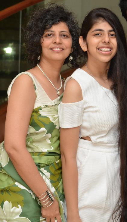 Times Of Amma inspiring Mom Dr. Swati Lodha with her daughter