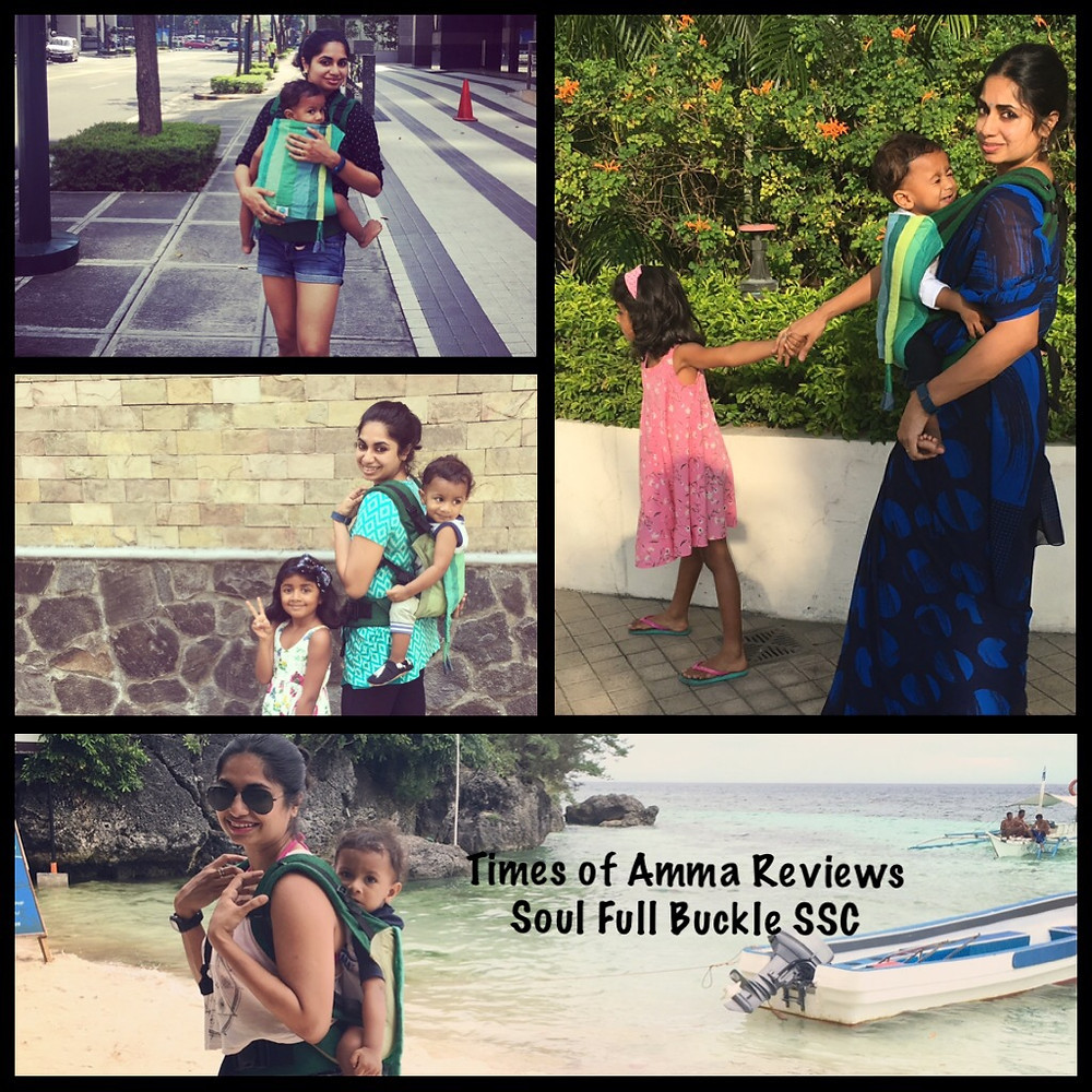 The Times of Amma reviews Soul Full Buckle Carrier
