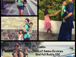 Times Of Amma Reviews : Soul Sling's Soul Full Buckle Carrier (SSC)