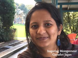 Inspiring Mompreneur : Gayathri Jagan