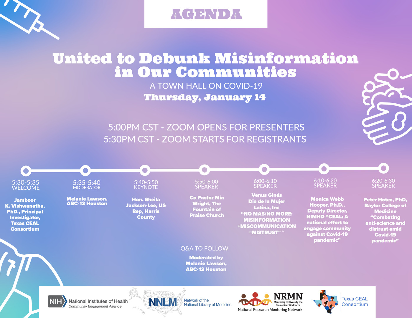 United to Debunk Misinformation - January 14th, 2021