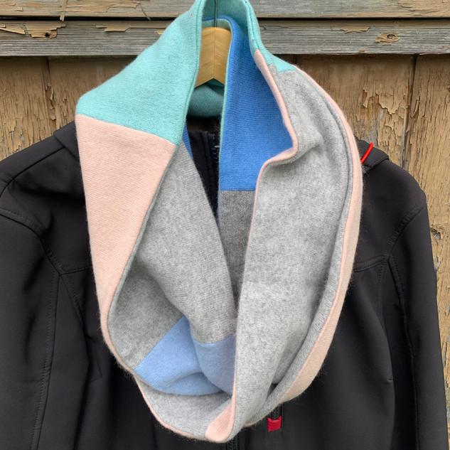 Pastel Infiniti scarf