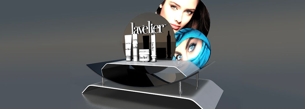 cosmetic display in the center.jpg