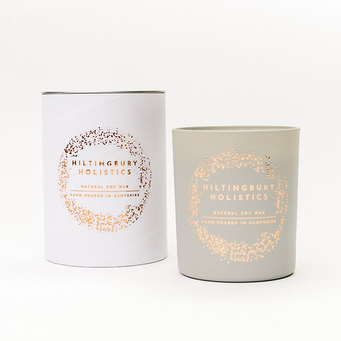 Scented single wick candle