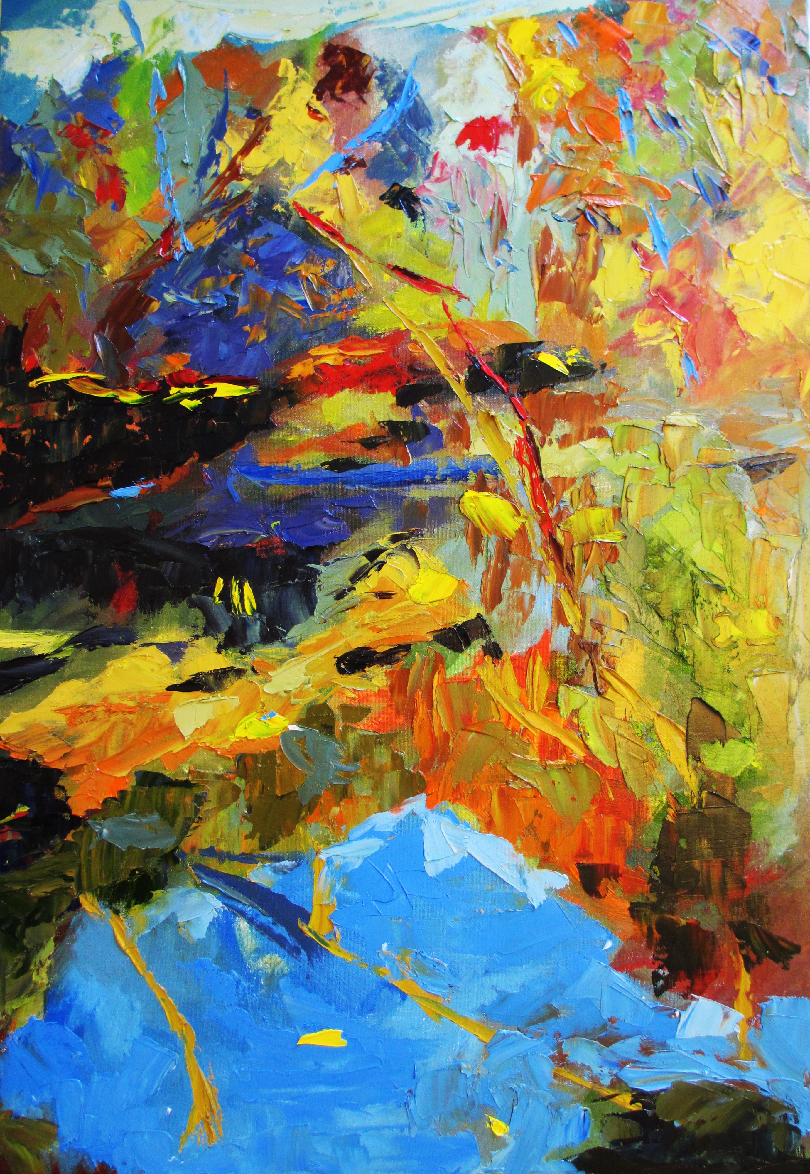Vibha 36 x 24 Oil on canvas panel 2013