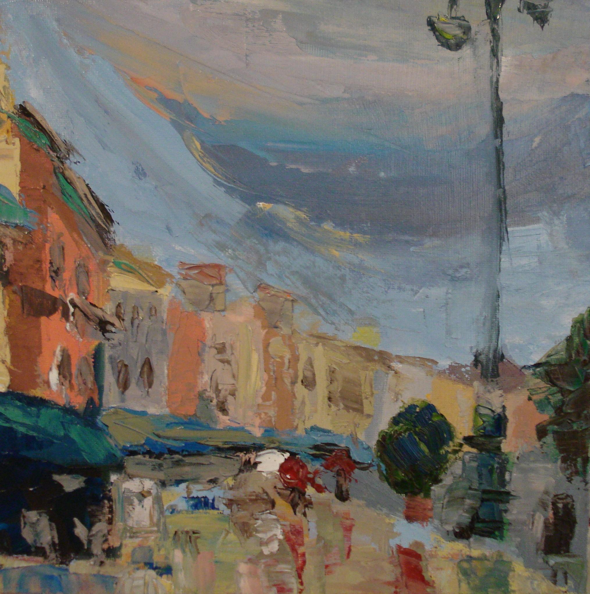 Rainy day in Verona