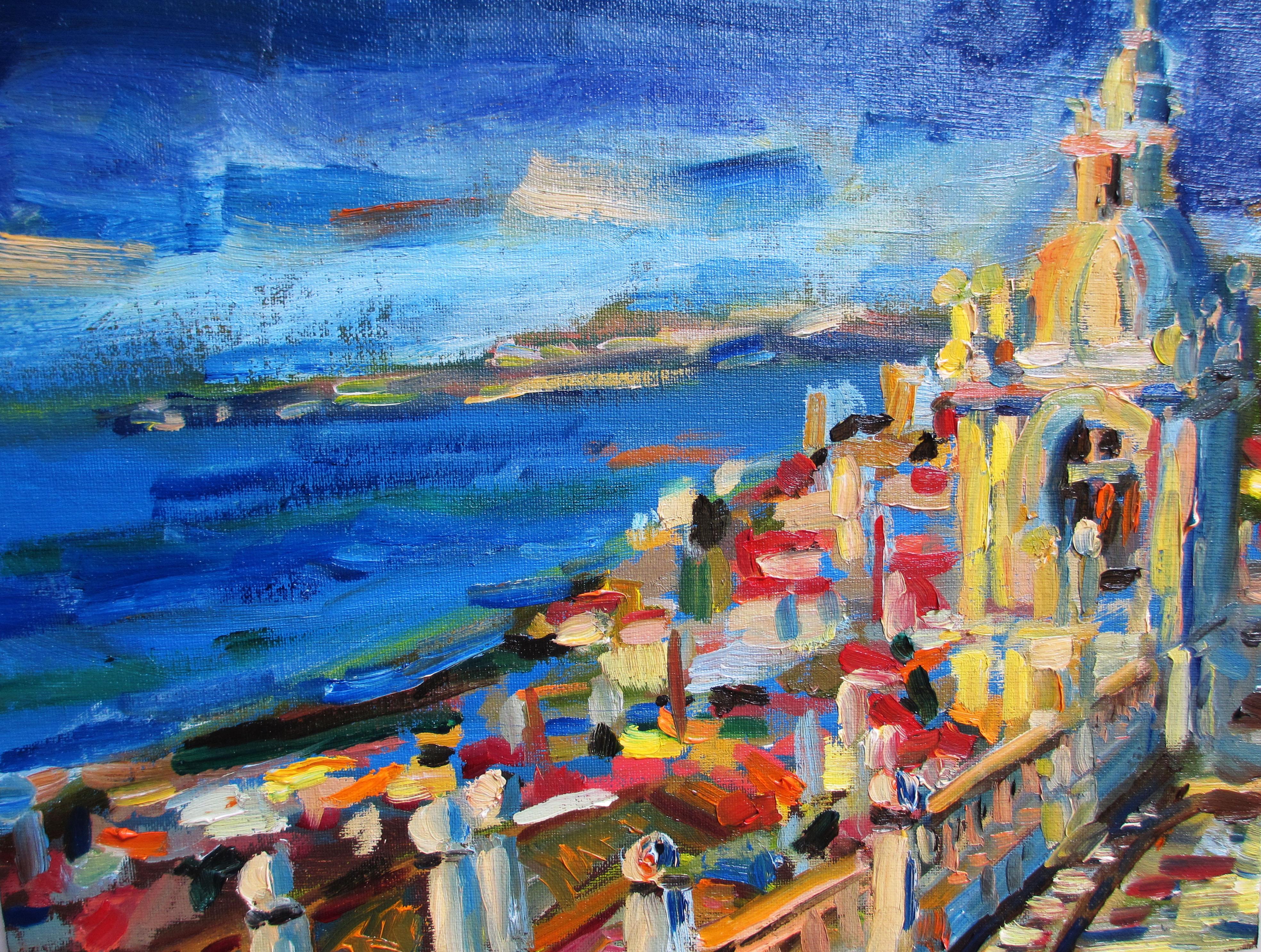 Violettas Lisboa 9x12 canvas panel
