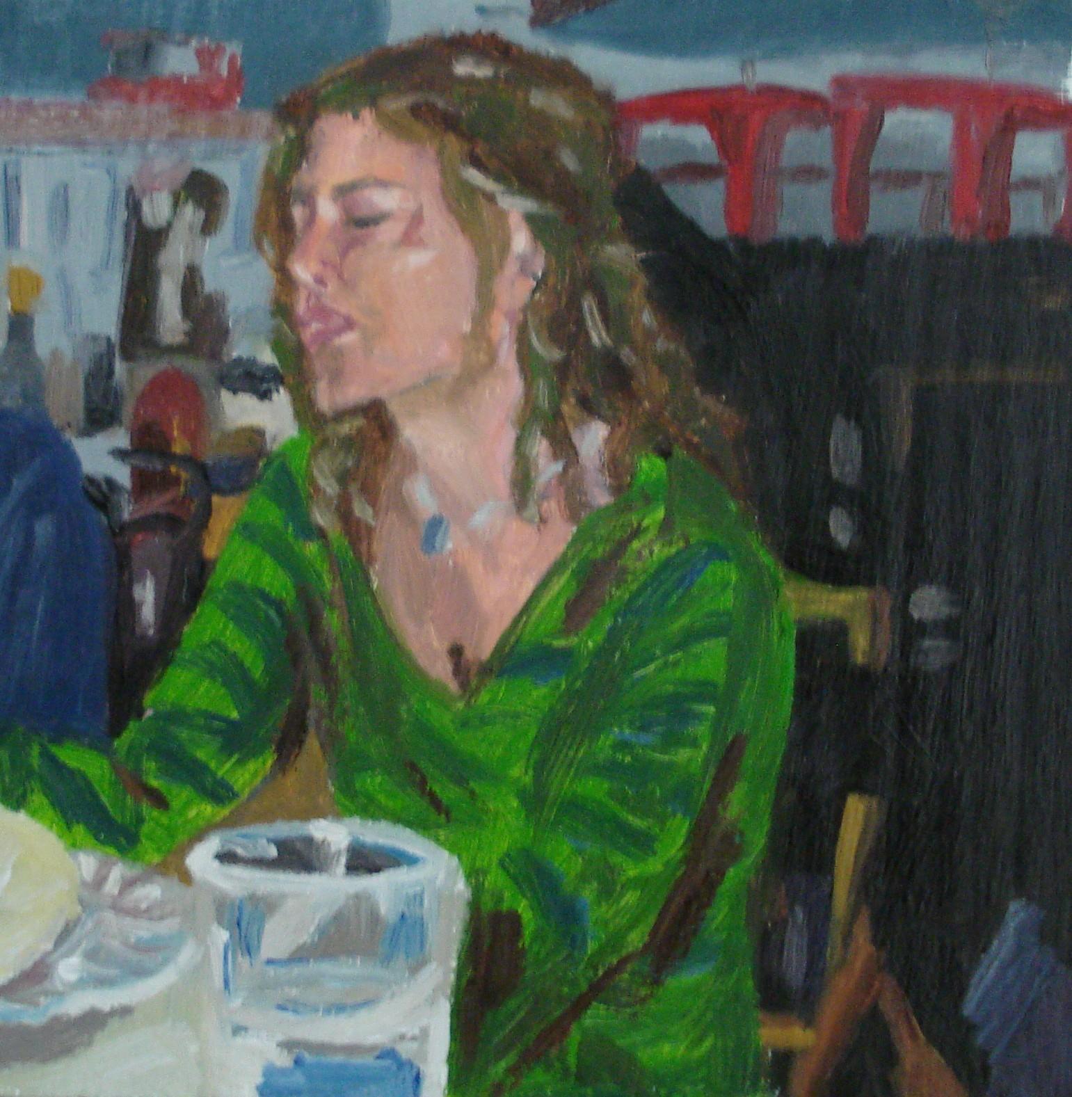 Portrait of Maria Elena
