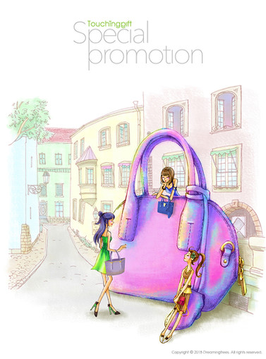 leather handbag promotion