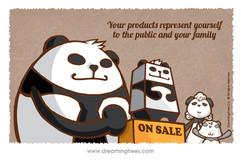 你的產品 / 服務是代表你自己 對外介紹給公眾和自己家人