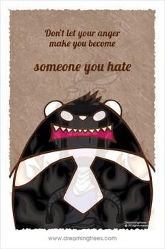 不要讓怒火使自己變成自己都討厭的人