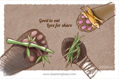 分享美食開心三倍