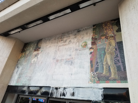 Famous Sheets & Associates Mosaic Re-emerges at 249 Ocean Boulevard