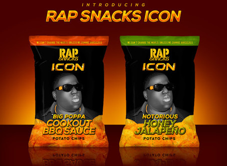 Voletta Wallace-Endorsed The Notorious B.I.G. Rap Snacks