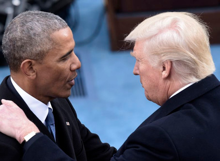 Trump and Obama tie as America's most admired man
