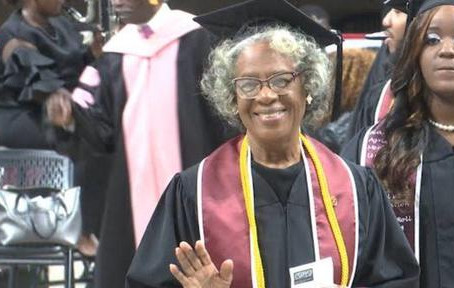 80-Year-Old Graduate Makes History At Alabama A&M University