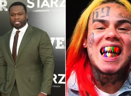 Shots fired near Brooklyn music video shoot for rappers 50 Cent, 6ix9ine