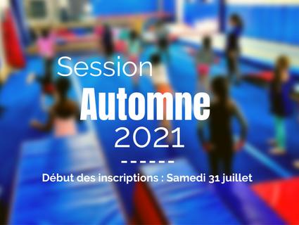 Session AUTOMNE 2021