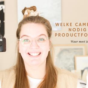 VIDEO: Welke camera heb je nodig voor productfotografie?