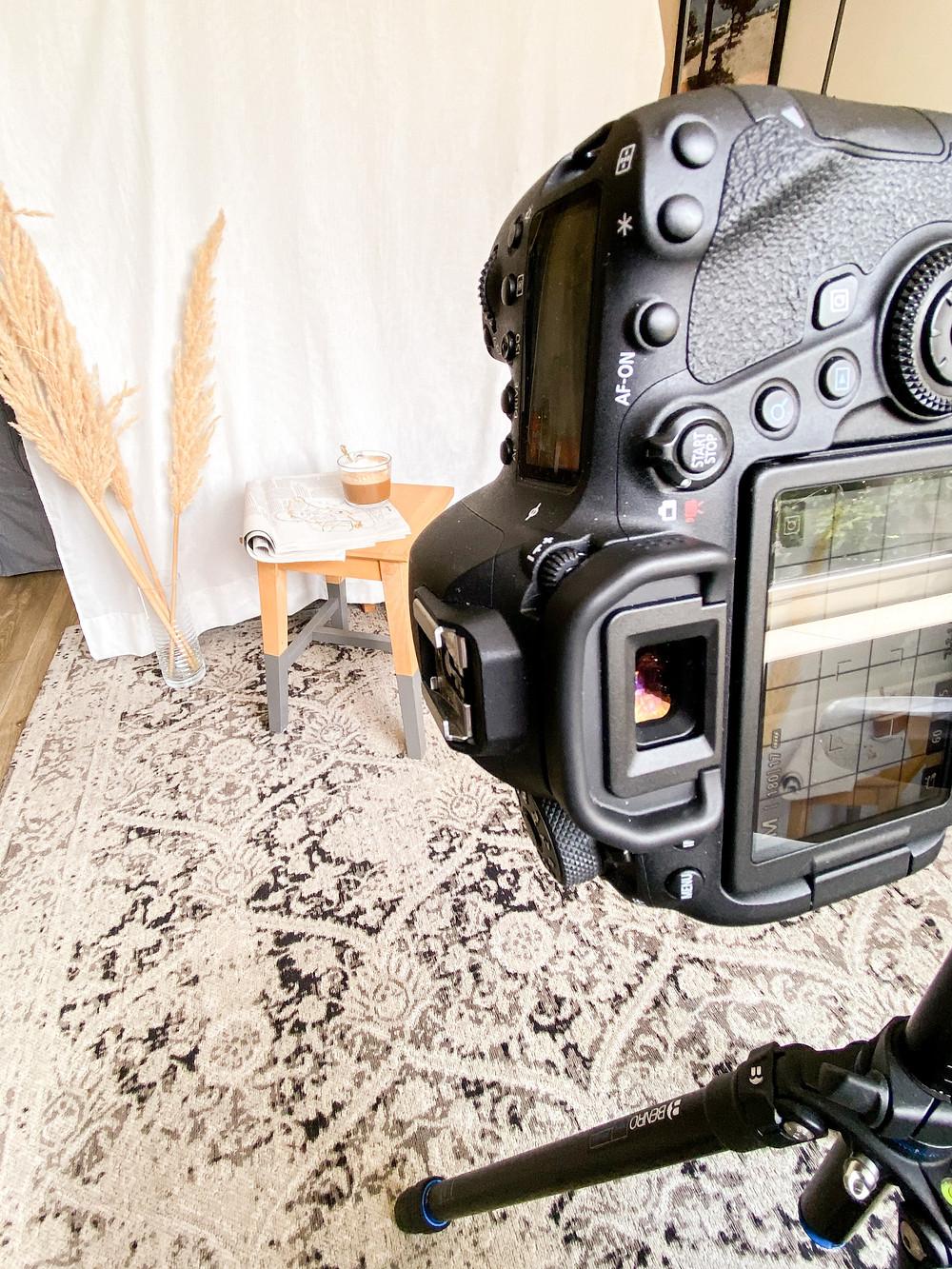 Productfotografie behind the scenes