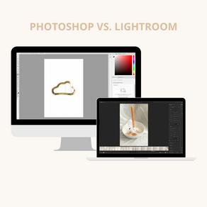 Verschil tussen Photoshop en Lightroom