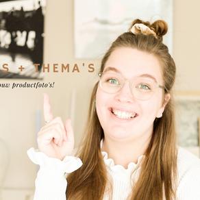 VIDEO: Inhakers en thema's voor jouw productfoto