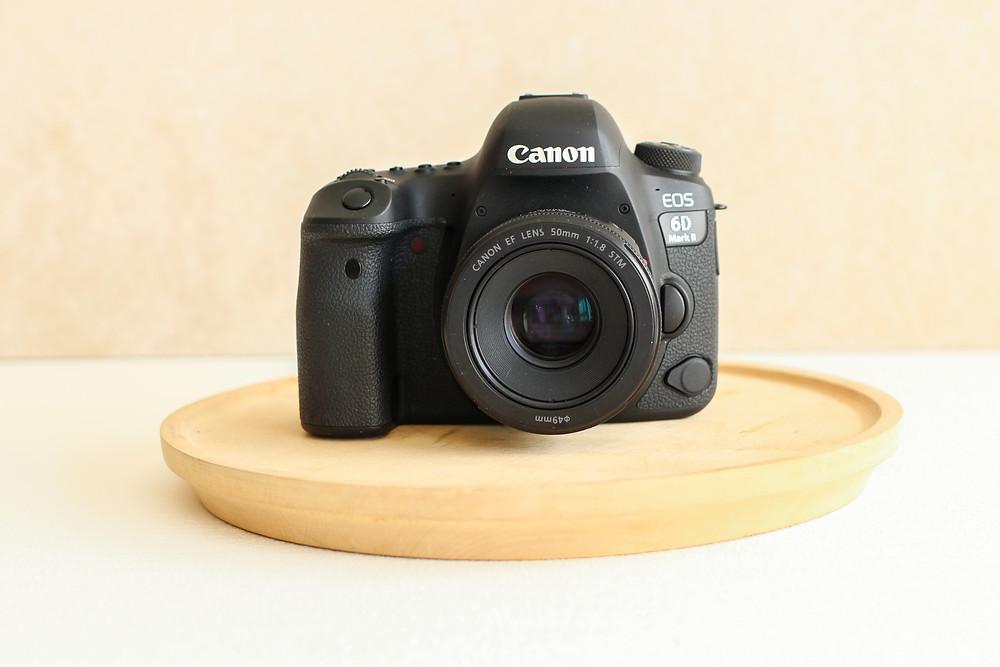 productfotografie camera canon 6d mii
