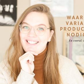 VIDEO: Waarom jij variatie in productfoto's nodig hebt
