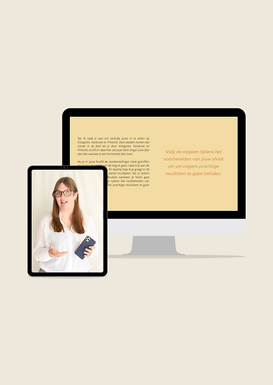 Online Coaching — Productfotografie
