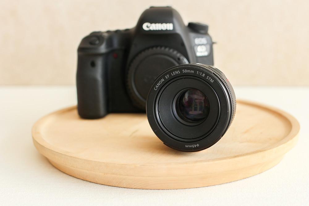 productfotografie camera canon 6d mii lens 50 mm 1.8