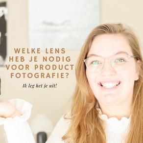 VIDEO: Welke lens heb je nodig voor productfotografie?