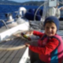 una famiglia a vela | Nicola